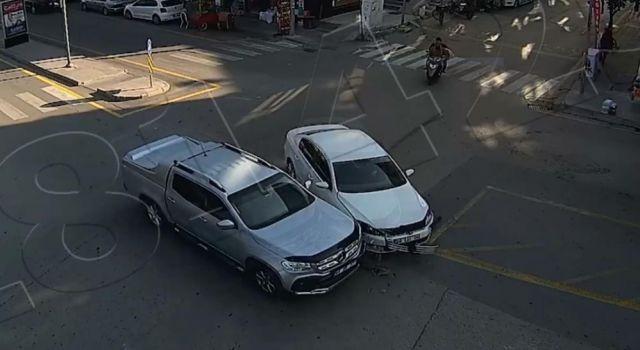 Yaşanan Kazalar Şehir Polis Kameralarında