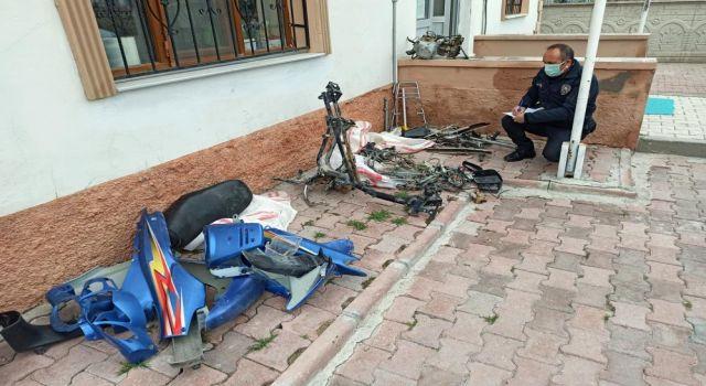 Çaldıkları Motosikletle Yakalanan Şüpheli Tutuklandı