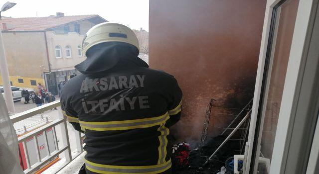 Yangın Duyarlı Vatandaş ve İtfaiye Tarafından Büyümeden Söndürüldü