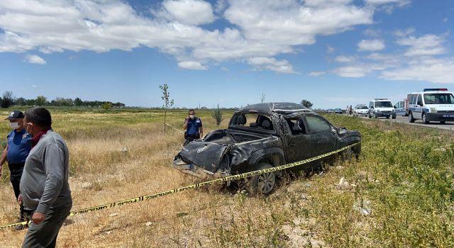 Eskil'de Feci kaza 1 Ölü 3 Yaralı
