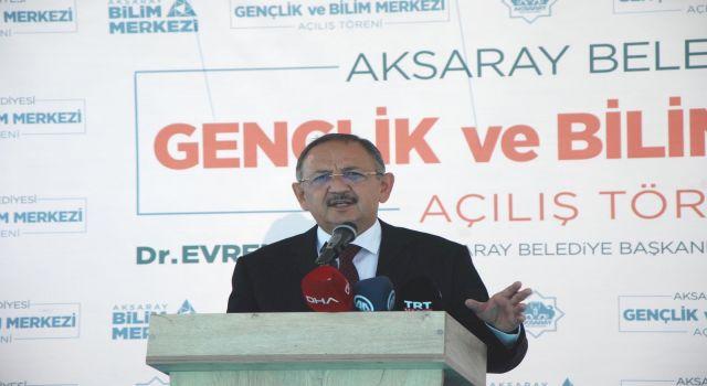 """Özhaseki'den CHP'li Belediyelere """"Yaptıkları Tek İş Algı"""""""