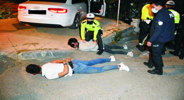 """Polis """"Direnme Yat"""" Dedi Yatmadı, Yatırıldı Kalkmadı"""