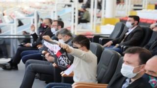 Down Sendromlu genç, maçı özel izinle vali koltuğunda izledi