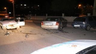 5 Araçlı Trafik Kazası: 1 Yaralı