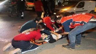 Yola Savrulan 2 Yaralıya İlk Müdahale Polis ve UMKE Personelince Yapıldı