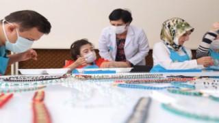 Özel Eğitime İhtiyaç Duyan Vatandaşlara Takı Tasarım Kursu