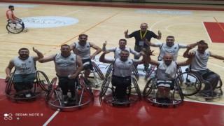 Tekerlekli Sandalye Basketbol Takımı Her Maçı Galibiyetle Sonuçlandırdı