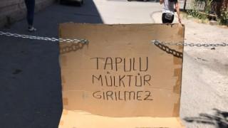 Taşpazar'da 815'inci Sokak Tapulu Çıktı