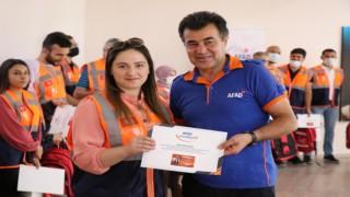 Türkiye'de 320 bin AFAD Gönüllüsü İş Başında
