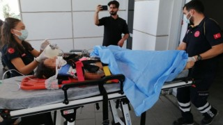 Kamyonun Çarptığı Kız Çocuğu Ağır Yaralandı