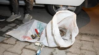 İnşaattan Demir Çalan Şahıs Kıskıvrak Yakalandı