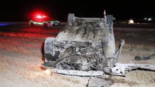 Otomobil Takla Atıp Tarlaya Düştü: 1 Yaralı