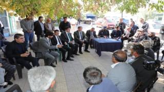 Vali Hamza Aydoğdu Köylerin Sorunlarını Dinledi